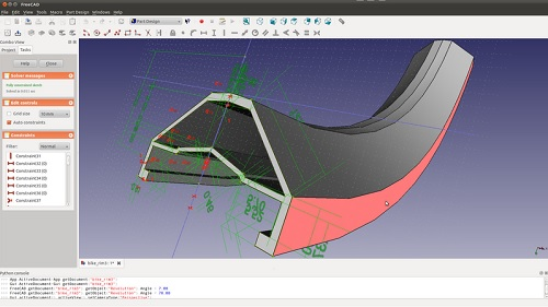 freecad 3d cad software cad programm kostenlos download. Black Bedroom Furniture Sets. Home Design Ideas